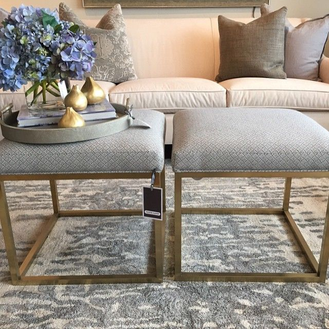 wonderland by alice lane. Percy Ottomans pair perfectly at the foot of a bed, under a console, opposite the coffee table... or with a fox, in a box! ~ Percy Ottoman - $715 #foundinwonderland