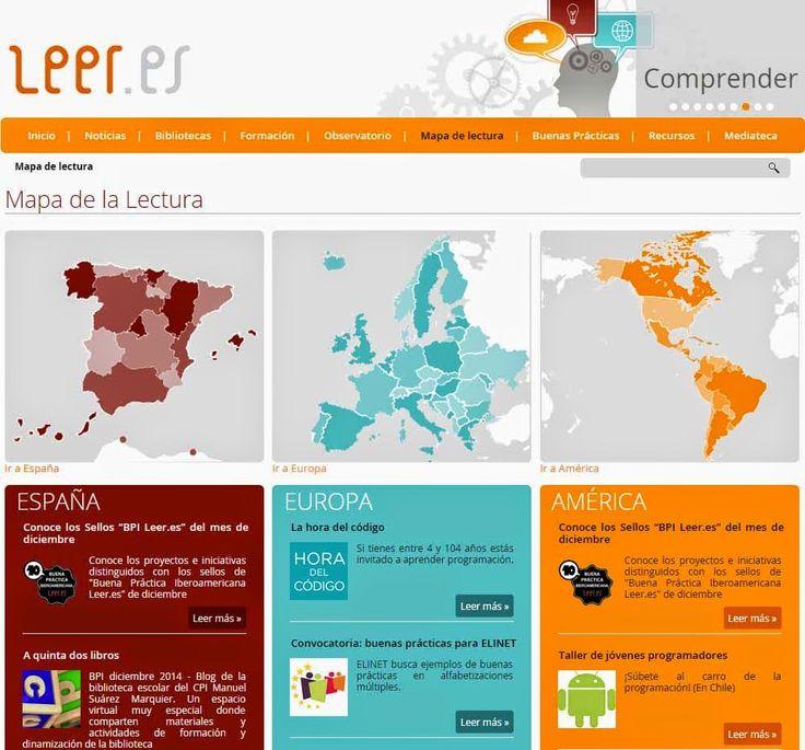 LEER.ES: Centro virtual para fomentar la lectura y mejorar la competencia en comunicación lingüística ~ Juegos gratis y Software Educativo