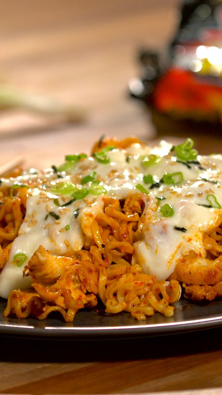 Try this seriously spicy dish with a glass of milk close by.