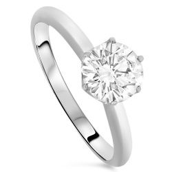 1.00ct Diamond Solitaire Ring