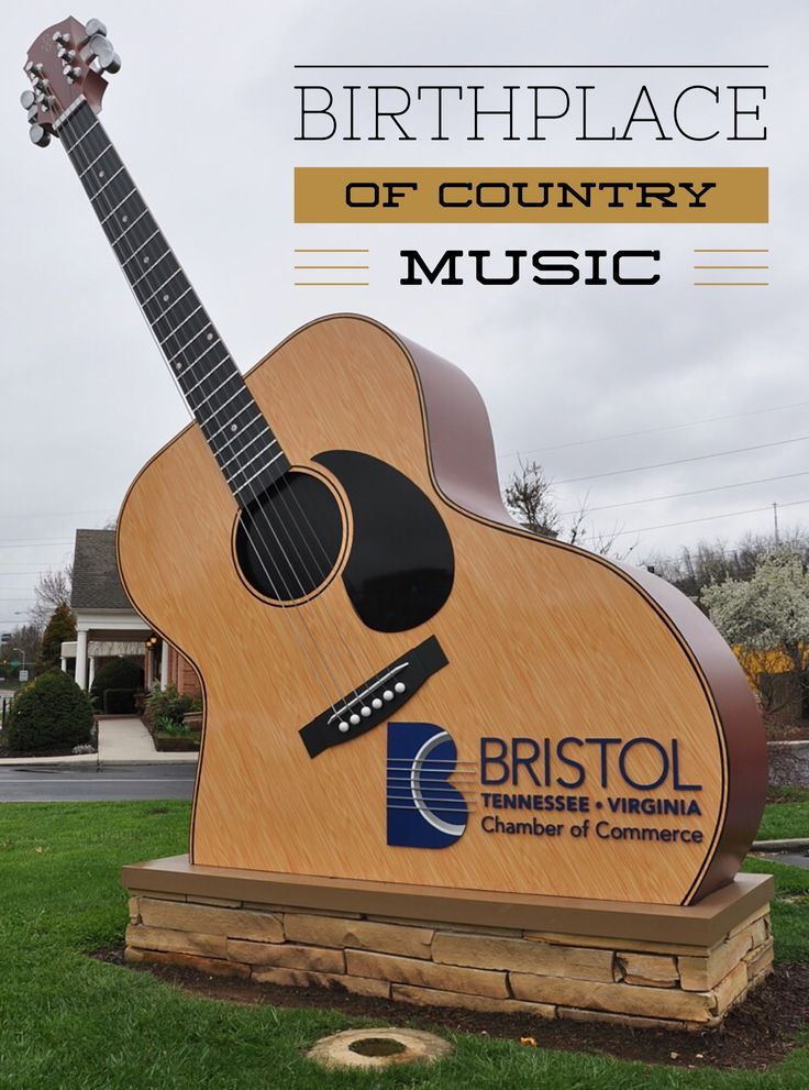 Bristol, Tennessee - birthplace of country music - part of the soundtrack of America, Made in Tennessee. You can't download it; you can only experience it.