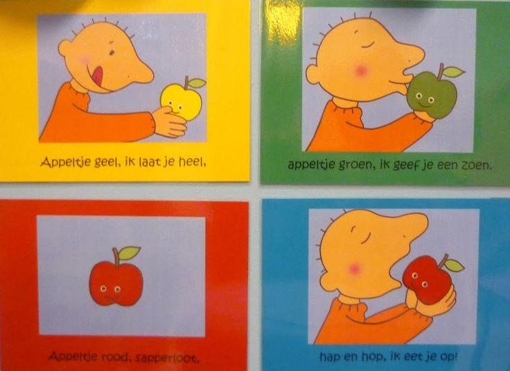 """Welkom in ons kleuterklasje! : Thema : """"Mmm... lekker fruit!!'"""