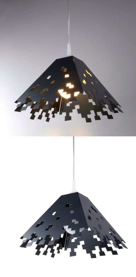 Pix grey lampshade by deFacti on www.narvalmarket.com