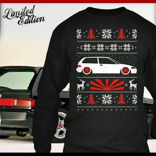 Ugly sweater | honda | Pinterest | Honda, Car stuff and Cars