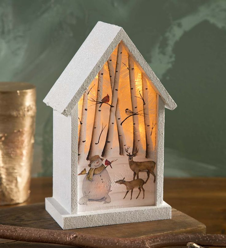 212 best christmas solar and glow images on pinterest christmas lighted snowman birdhouse diorama in lamps and lighting aloadofball Image collections