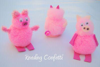 The 3 Little Pigs Retelling ~ Reading Confetti