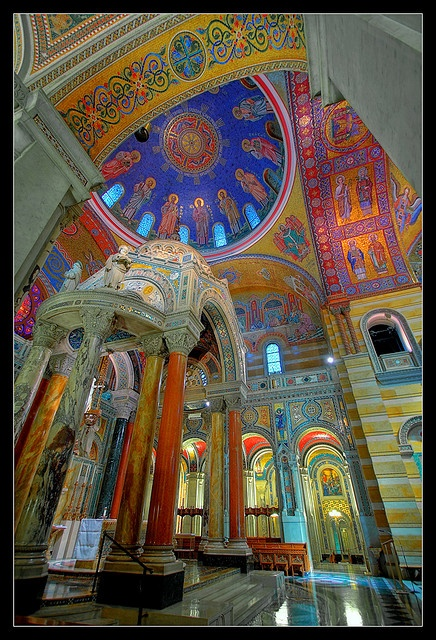 Cathedral Basilica of St. Louis  This place is out of this world beautiful. Love it