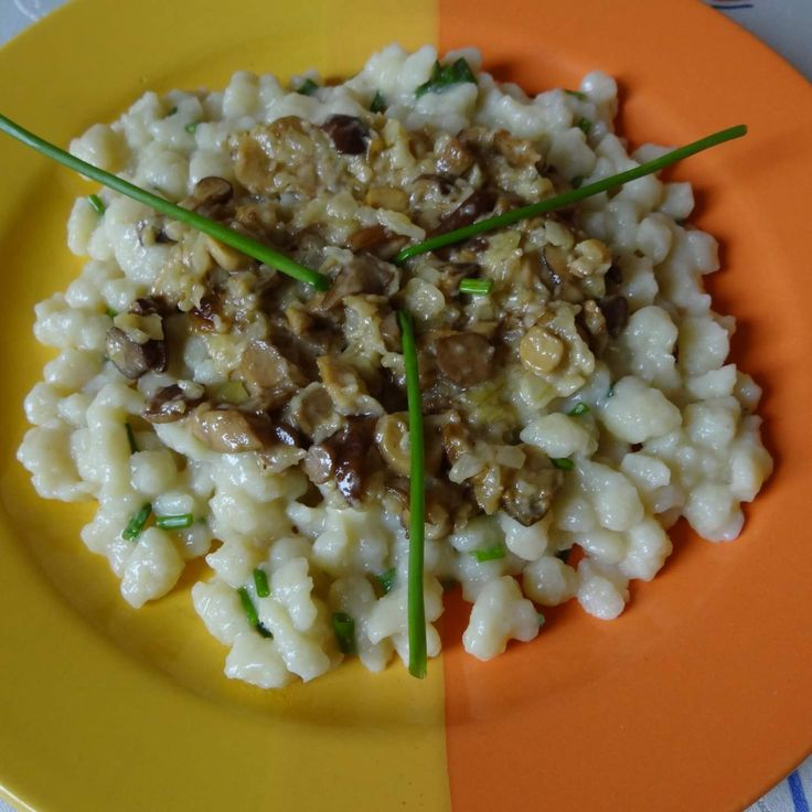 Recept Chlupačky s houbami od Jan Stříbrný - Recept z kategorie Hlavní jídla - ostatní