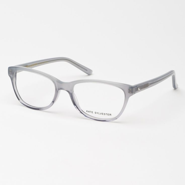 Eyewear - Kate Sylvester Opticals: Sylvia - Grey