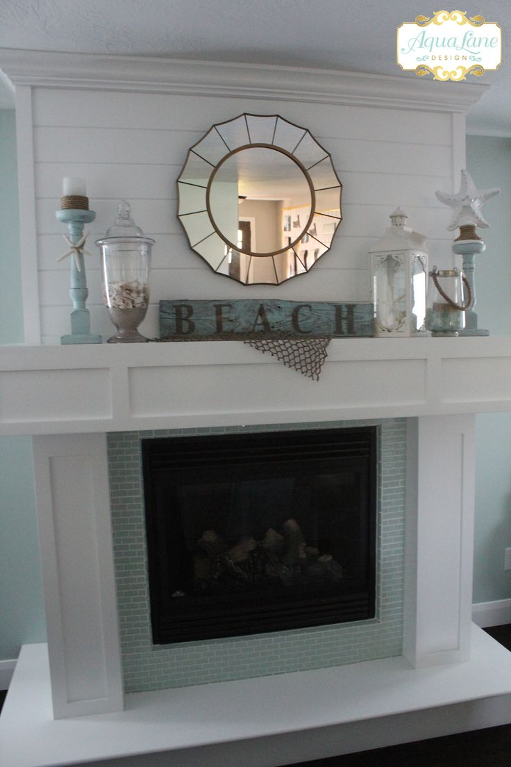 beachy summer mantle full