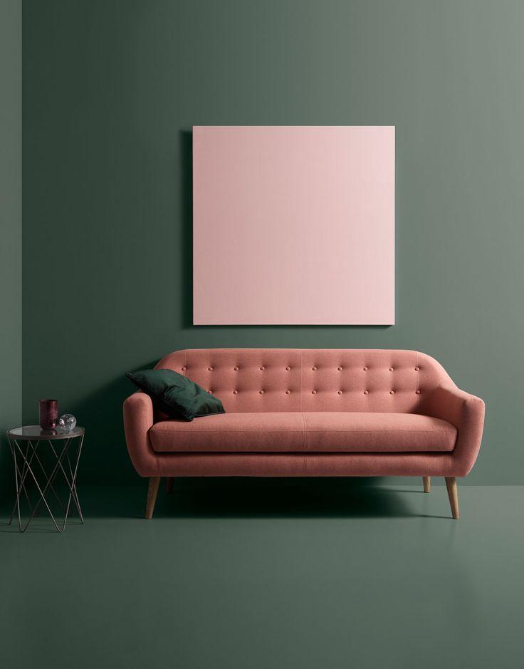 Wir lieben Thea #sofacompany_de #danishdesign #furniture #scandinaviandesign #interiordesign #furnituredesign #nordicinspiration #retrostyle #pink #Sofa