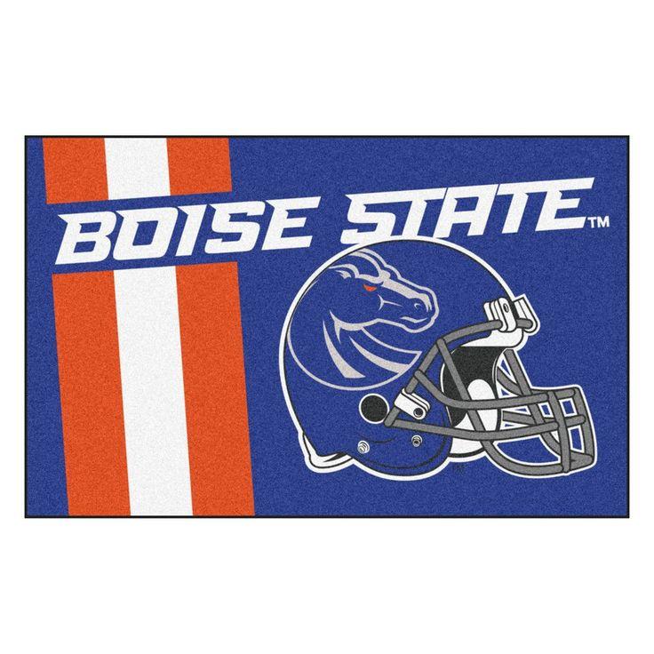 Boise State Broncos Uniform Inspired Area Rug
