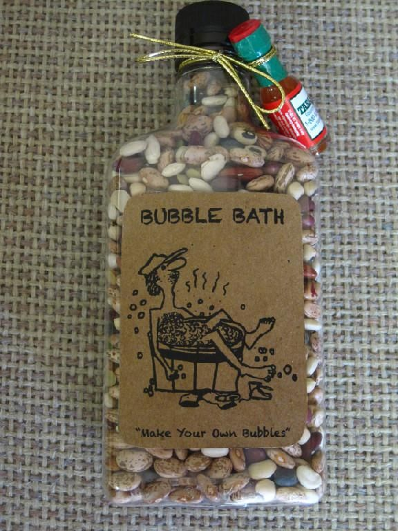 Make Your Own Christmas Gift Ideas Part - 42: I Love It~Redneck Bubble Bath-christmas Ideas. This Would Make A Great  White Elephant Gift!
