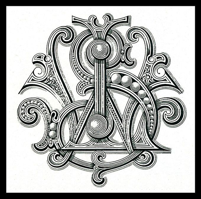 I just love fancy monograms. If your initials happen to be SW or WS, you're welcome. :-): Logo, Vintage Typography, Graphic, Typography Fonts, Lettering, Album, Typography Design, Typography, Monograms