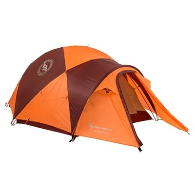 Big Agnes Battle Mountain 3 Person 4 Season Tent  Battle Mountain four season tents are spacious, lightweight mountaineering tents that offer full protection in the harshest of high country conditions. With durable rip-stop fly material, nylon rip-stop body, shutting mesh vents, and lightweight Mega X stakes, these double door with double vestibule storm shelters are built to withstand brutal high mountain conditions.