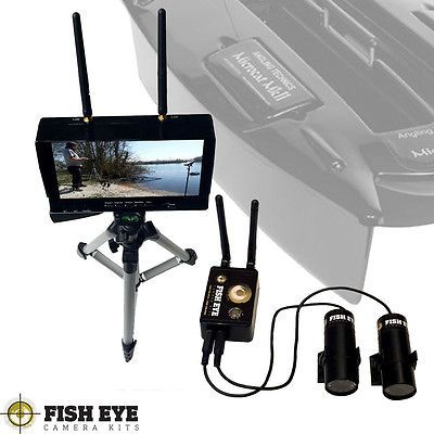 Underwater video #camera x2 for microcat carp #fishing bait boat *special #offer*,  View more on the LINK: http://www.zeppy.io/product/gb/2/182236638937/