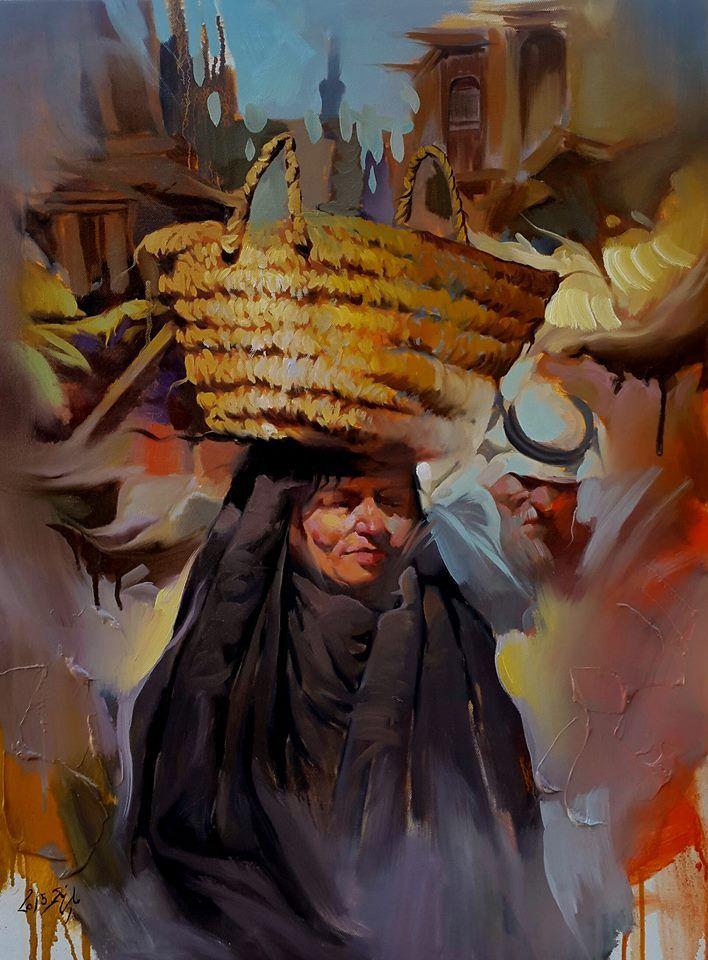 Beautiful painting for ALI NEMAH