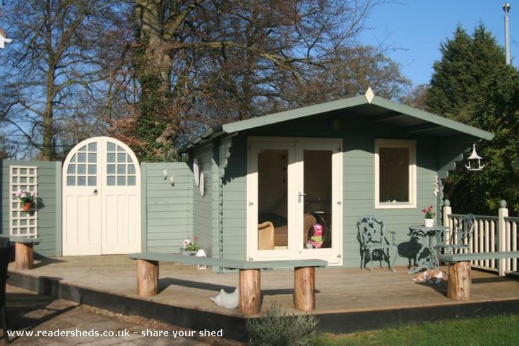 '...Away From It All'!, Cabin/Summerhouse from south facing garden, nr Cambridge…