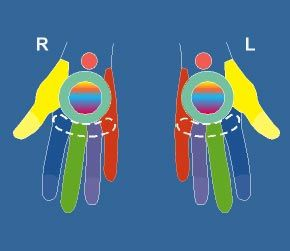 More than a guide for meditation, this site shows, in visuals, how the extremities - arms, legs, hands, feet and head - are related to the main chakra system. Good reference for reflexology work as well as those practicing Reiki or other similar modalities.