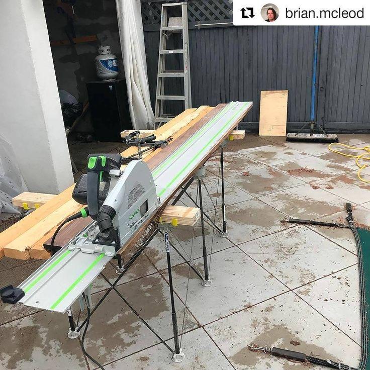 #CentipedeSupport #tracksaw #stand repost via @brian.mcleod:    Start right end right 🔨🔨🔨🔨🔨📐📐#rockawaybeach #rockawaybeachny #carpentry  ・・・  (@get_repost)  #CentipedeTool #portable #jobsite #workbench #temporary #woodshop #workspace #mobile #workshop #worktable #sawhorse #carpenter #joinery #woodworking #woodwork #chippy #joiner #woodworker #craftsmanship #handmade #diy #CentipedeSawhorse #festool #tools