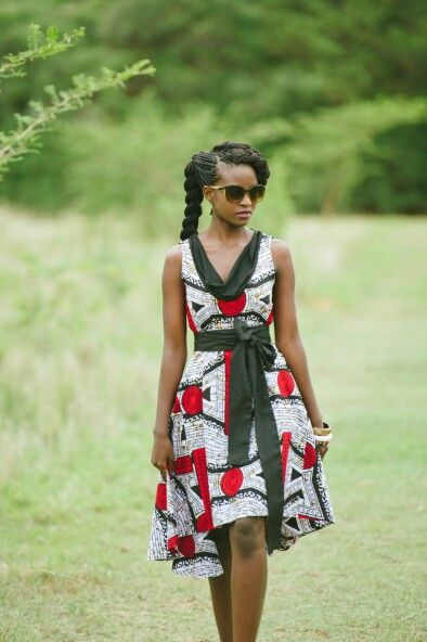 Country chic braids style Kamanga wear zambian fashion label #ItsAllAboutAfricanFashion #AfricanBeauty