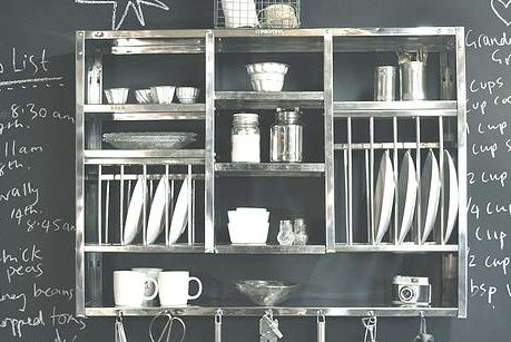theplaterack.co.uk   Black and White   Vintage Industrial Kitchen Accessories   On Trend   Get The Look   Warehouse Home Design Magazine
