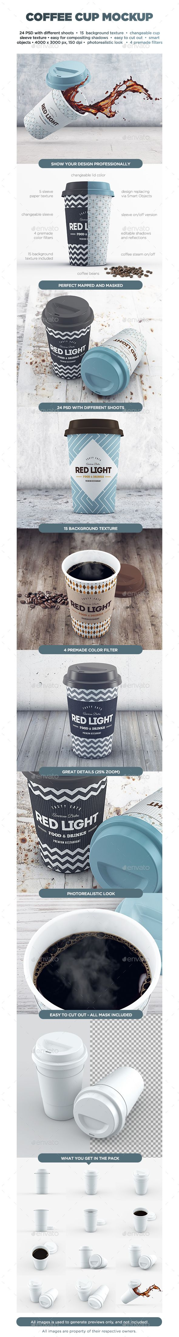 Coffee Cup MockUp #design Download: http://graphicriver.net/item/coffee-cup-mockup/13081348?ref=ksioks