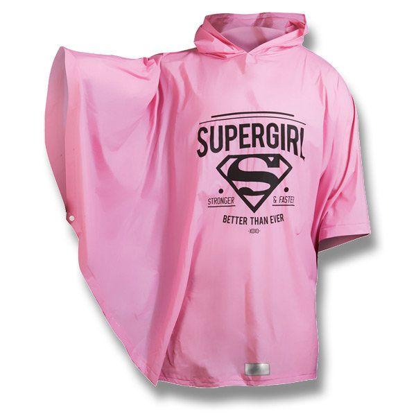 Pláštěnka pončo Supergirl, vhodné i pro dospělé / Raincoat (Poncho) Supergirl http://activacek.cz/produkt/plastenka-ponco-supergirl-6067/