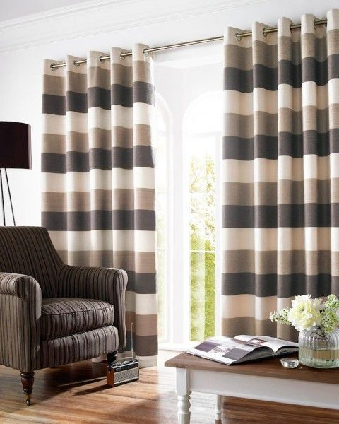 17 Best ideas about Brown Eyelet Curtains on Pinterest | Curtain ...