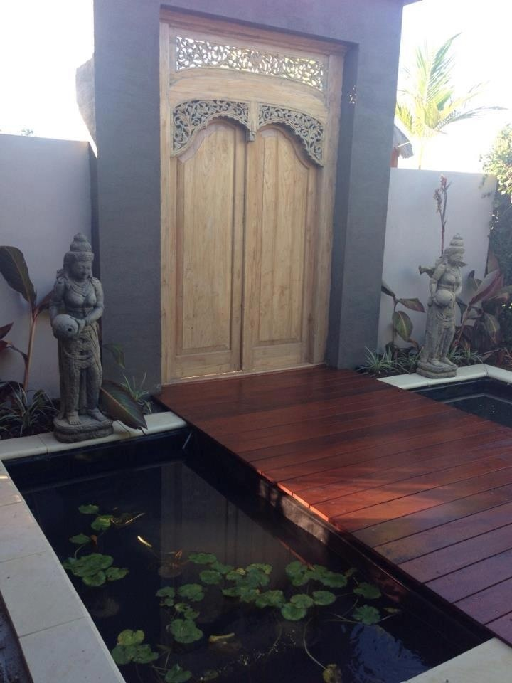 Balinese fish ponds inspired by our many stays at the Padma hotel in Bali. Bali Mystique Melbourne