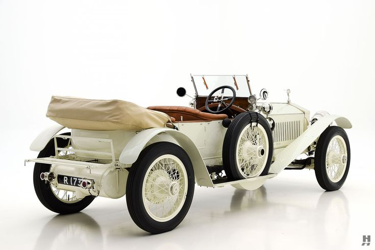 1913 rolls-royce silver ghost sports tourer