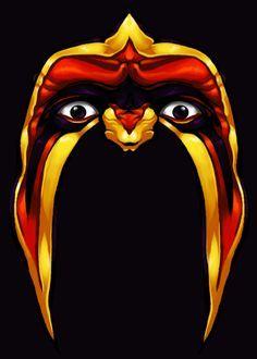 hulk hogan face paint - Google Search