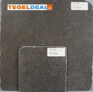 Tegels Limburg - Pietra Blanc, getrommeld, 30x30/15x15 OP VOORRAAD - Tegeldeal.nl
