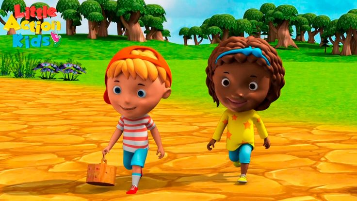 Join Jack and Jill as they go up the hill to fetch a pail of water! Jack fell down, and broke his crown and Jill came tumbling after. The best kids nursery rhyme song with easy actions. This is a great rhyme for babies, children and BIG kids.  https://www.youtube.com/channel/UCeotJ7JiJ1iSDRFo51JV-sw?sub_confirmation=1