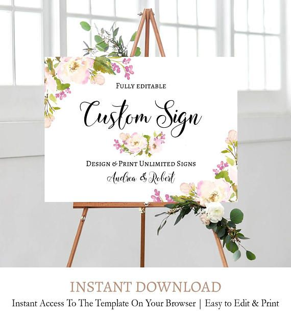 Diy Wedding Welcome Sign Peony Floral Welcome Sign Printable Etsy Diy Wedding Welcome Sign Wedding Reception Signs Printable Wedding Sign