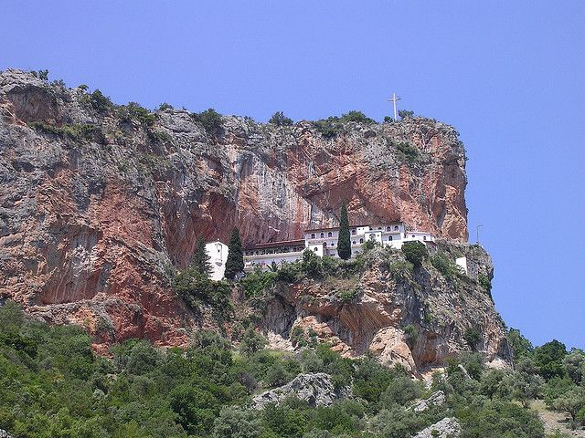 Elonas monastery Leonidio Arkadia Greece
