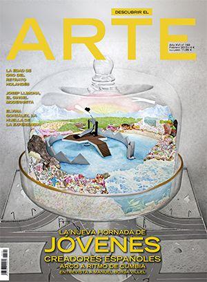 Portada de la revista de febrero 2015 de Descubrir el Arte. ¡Ya en quioscos y http://quiosco.arte.orbyt.es/!