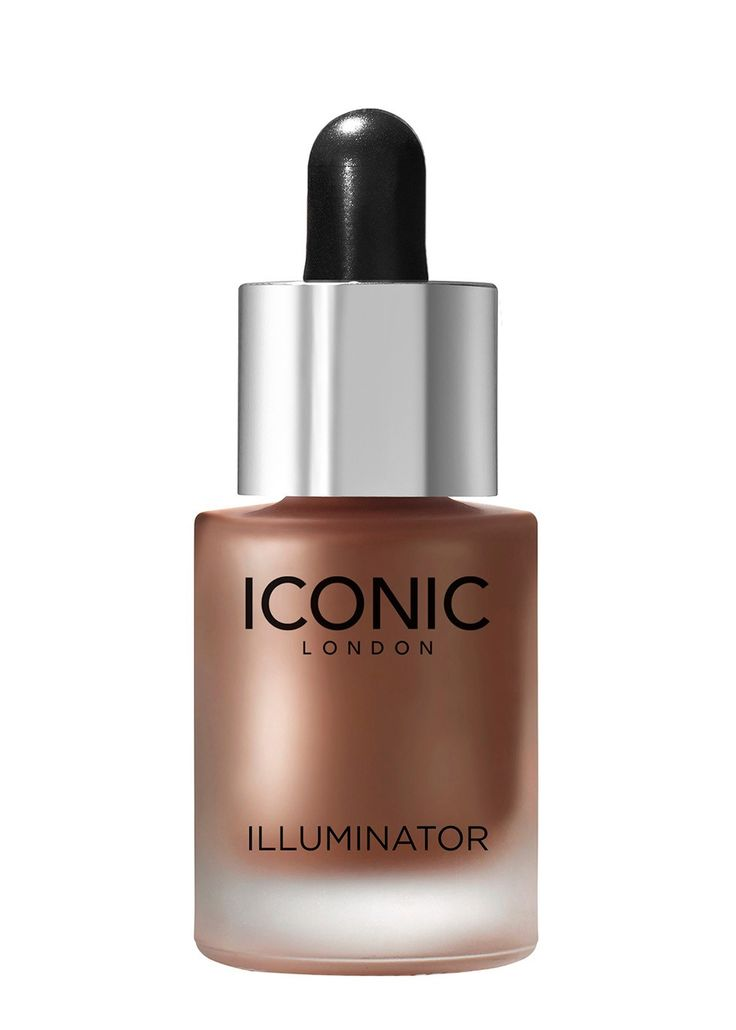 Like nothing you've seen before, The Iconic London Illuminator drops allow you to customise any product in your makeup bag. Add them to your foundation, primer, moisturiser or use them on their own for a super highlighted golden glow. For fair skin, try the pink tone SHINE Illuminator. Olive to dark skins will love the golden terracotta GLOW illuminator.