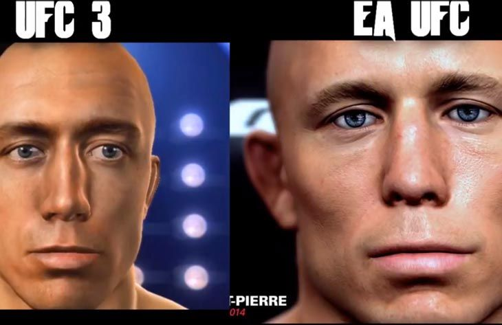 Where do you stand with EA Sports UFC vs. UFC Undisputed 3?