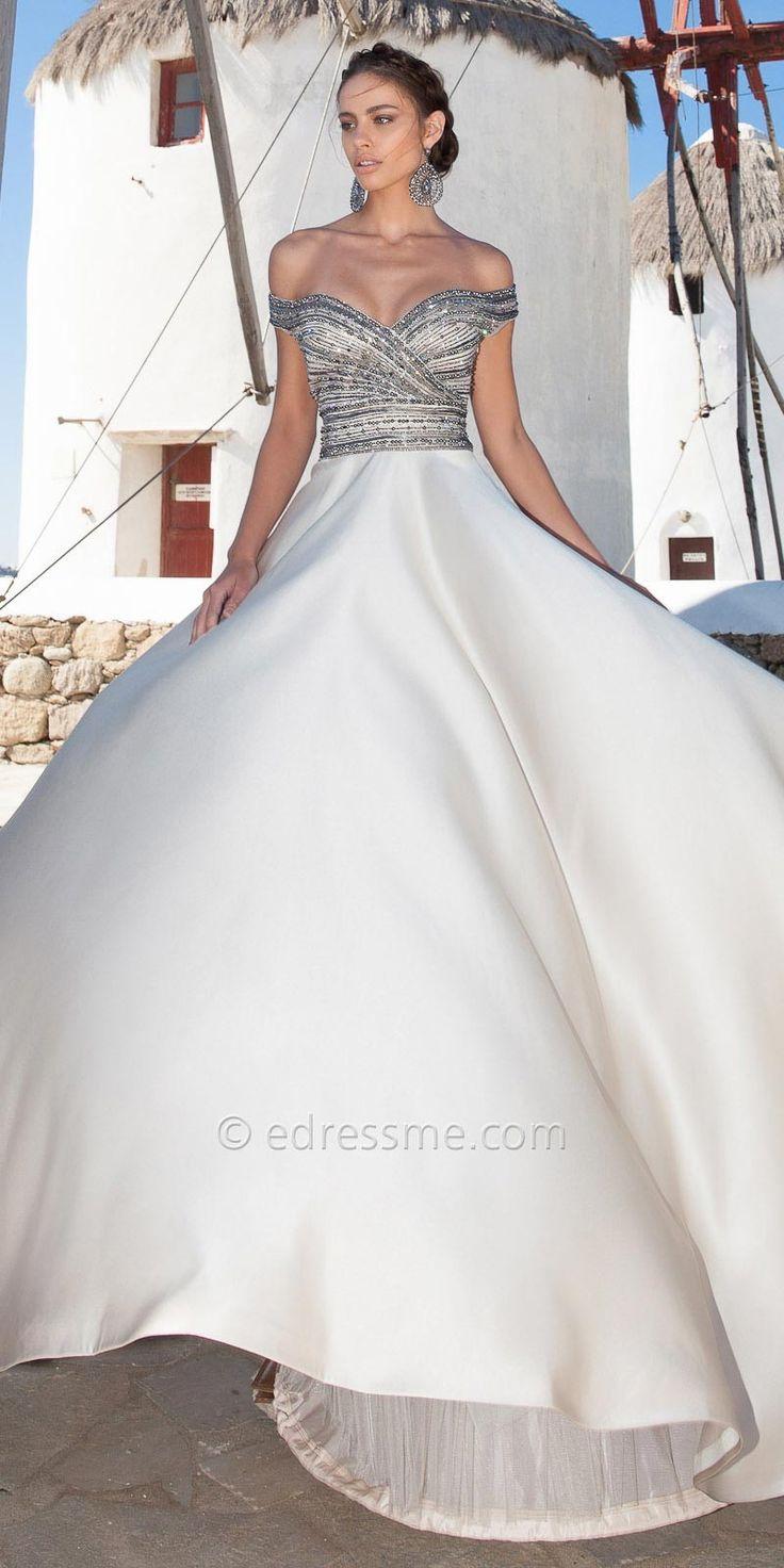 Calista Evening Dresses By Tarik Ediz