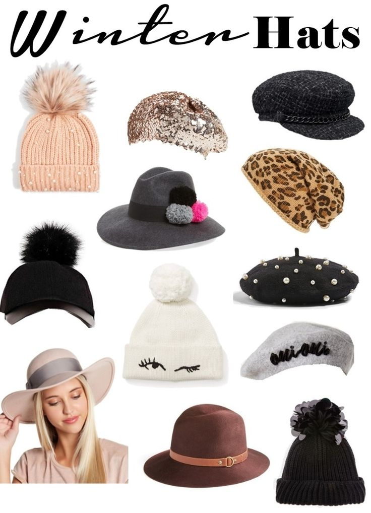 12 Stylish Hats to Upgrade Your Winter Wardrobe via Babblings of a Mommy