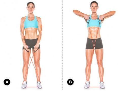 Workout - Resistance Band // arms
