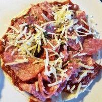 Tortizza met salami : Recepten van Domy