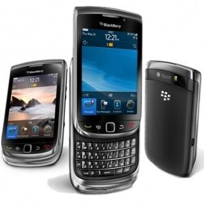 Blackberry 9800 Torch Slider Black WKL