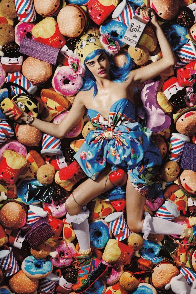 CaraDelevingne for LoveMagazine F/W 2014-15 moschino