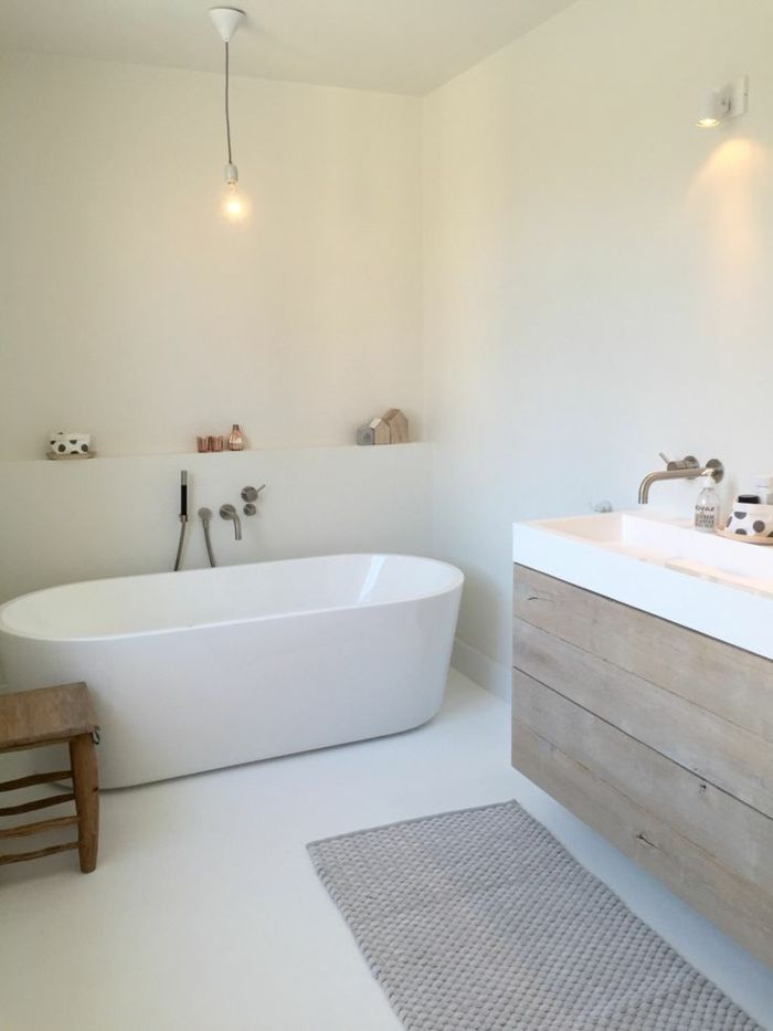 25 best ideas about id e salle de bain on pinterest. Black Bedroom Furniture Sets. Home Design Ideas
