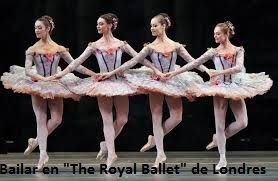 "Bailar en "" The Royal Ballet"" de Londres"