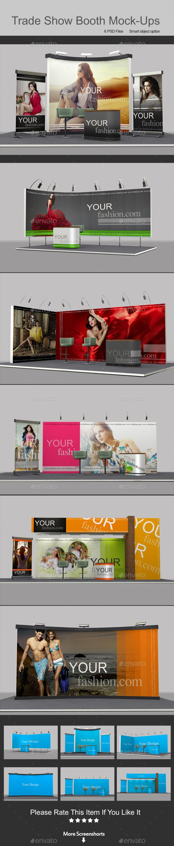 Trade Show Booth Mockups | #tradeshowmockup | Download: http://graphicriver.net/item/trade-show-booth-mockups/9269035?ref=ksioks