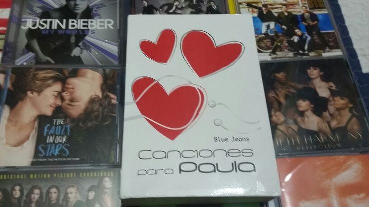 """""""Canciones para Paula"""" escrito por Blue Jeans:"""