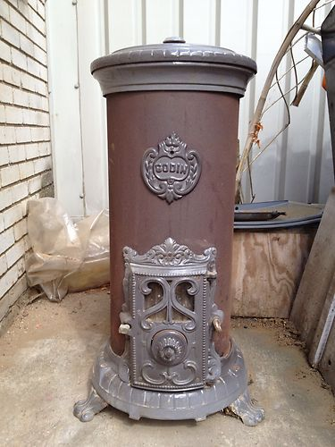 Excellent Condition French Godin Stove Wood Burner Solid